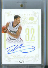 BLAKE GRIFFIN 1/1 FRANCHISE GREATS ON CARD AUTO 2013 14 FLAWLESS