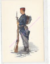 CP MILITARIA J DEMART Costumes Militaires Belges soldat infanterie de ligne
