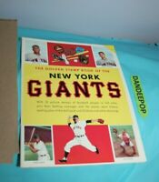 The Golden Stamp Book Of The New York Giants 1955 Simon Schuster