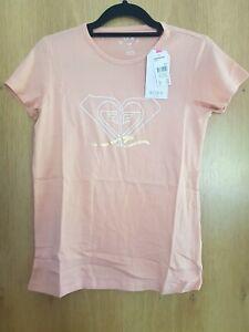 Roxy Girl Baby Pink Logo T Shirt Short Sleeve 14 XL BNWT