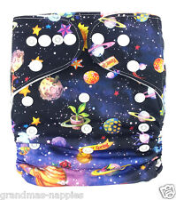 Reusable Adjustable Modern Cloth Space Nappies