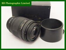 Sigma UC 70-210mm F4-5.6 Minolta AF Mount Zoom Lens, Serial No 1058437