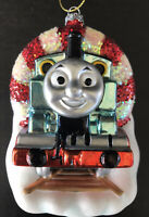 Thomas The Train Christmas Ornament Glass 2013 American Greetings