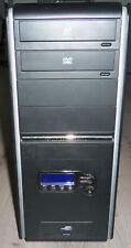 Caja PC ATX Torre Modelo 2862 -Spirit Of Tomorrow- con display lcd azul frontal.