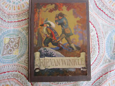 WASHINGTON IRVING RIP VAN WINKLE (1921) WITH N.C. WYETH first edition book rare