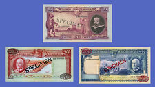 ANGOLA - Lots of 3 notes - 20-->1000 Escudos - Reproductions