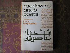 Modern Arab Poets, 1950-1975 by Issa J. Boullata (1976, Book)