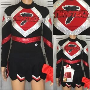 Cheerleading Uniform Twisters Flyaway Youth Xl