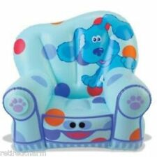 ❤️ NEW BLUES CLUES TALKING SILLY SEAT  (in Box) Inflatable Child's Chair❤️