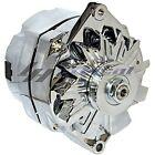 CHROME ALTERNATOR FOR CHEVY OLDSMOBILE PONTIAC BUICK GM HIGH 110AMP 12 o'clock  for sale