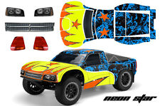 AMR Losi SCTE Ten RC Graphic Decal Kit 1/10 4WD Short Course Truck Body NEONSTAR