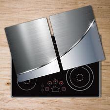 Glas-Herdabdeckplatte Ceranfeldabdeckung Spritzschutz 80x52 Teufelsaugen Eule