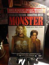 Monster (DVD, 2004) - Aileen Wuornos Story - Movie + Academy Award FYC Rare Disc
