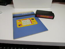 A-MAZE-ING - Red Label (TI-99/4A, 1982) - Cartridge & Manual - Tested