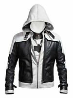 New Batman Arkham Knight Game Red Hood Leather Jacket & Vest Costume