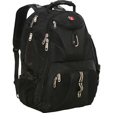 "SwissGear Travel Gear 1900 Scansmart TSA-friendly 17"" Laptop Backpack Black"