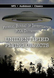 Unidentified Flying Objects - MP3CD Audiobook in DVD case