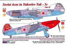 AML Models Decals 1/48 YAKOVLEV Yak-3 SOVIET ACES Part 2