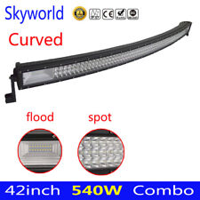 Curvo 42 PULGADAS 540 W LED barra de luces de trabajo Spot lámpara de conducción