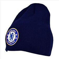 Bonnets bleues en acrylique pour homme