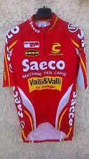 Maillot cycliste SAECO VALLI & VALLI Cannondale maglia cycling jersey CIPOLLINI