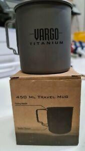 Vargo Titan MI Travel Mug Tasse Becher 450 ml nur 63g