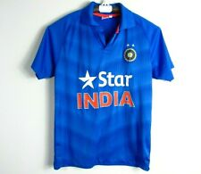 Star India Blue Shirt Cricket Polo Size Large L