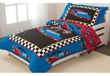 Kidkraft Racecar Toddler Bedding 4 PC Set 77005 Crib Mattress
