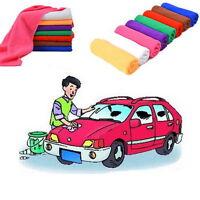 5PCS Microfiber 30x70cm Car Cleaning Towel Kitchen Washing Polishing Cloth NEW