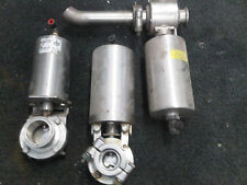 3 TRI-CLOVER? Actuator & Butterfly Valves SS