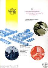 Europa Uhren Senden 2 Seiten Reklame von 1956 Uhrenfabrik Uhr Wecker Werbung Ad