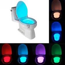 Licht led beleuchtung 8 colori water toilet WC tasse badezimmer bewegungssensor
