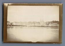 Suisse, Lucerne  Vintage citrate print. Luzern Tirage citrate  6x9  1900
