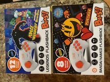 Legends Namco Flashback 20 Games Pac Man Space Invaders Plug Into Tv New