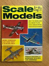 Escala Modelos Mensual Revista October1972. Hobby