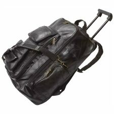 Embassy Italian Stone Design Genuine Leather Trolley/Backpack
