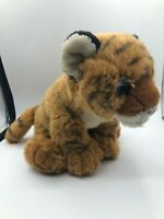K & M International Wild Republic Cuddlekins Tiger Cub Plush Stuffed Toy Animal