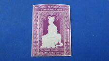 poster stamp cinderella vignette marken 1914 koloniale semarang  v
