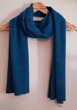 Kim & Co Melange Knit Scarf, Teal, BNWT