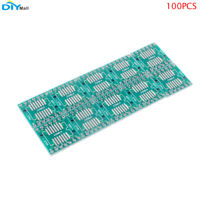 100Pcs SOP14 SSOP14 TSSOP14 SMD to DIP Adapter IC Converter Adapter DIP14 IC PCB