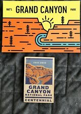 Grand Canyon Postcard And Magnet