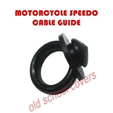MOTORCYCLE SPEEDO CABLE GUIDE GROMMET 10mm hole YAMAHA SUZUKI KAWASAKI HONDA