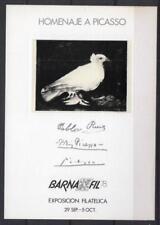 Hojas Recuerdo 1978 Edifil 70 Barnafil 78 Picasso