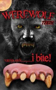 Fancy Dress Teeth Billy Bob Werewolf