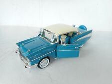 ROAD TOUGH 1:18 DIE CAST CHEVROLET BEL AIR 1957 2 Doors N Mint Ohne box