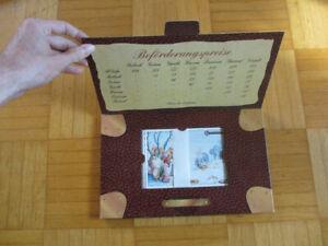 DSA limitierte Edition – Beilunker Reiter Depeschentasche – 16 Postkarten Set