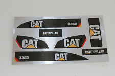 XX Aufkleber Sticker für Huina 580 1580 Kettenbagger AMEWI  1:14 Bagger NEU  XX