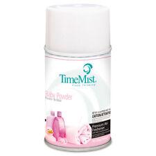 TimeMist Metered Fragrance Dispenser Refills Baby Powder 5.3 oz 12/Carton