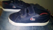 lacoste trainers infant size 6