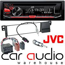 BMW 3 Series E46 98-02 JVC Car Stereo CD MP3 USB Aux Radio Player RED Display